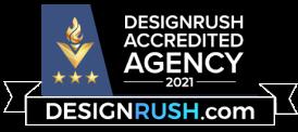 DeisgnRush Accredited agency logo